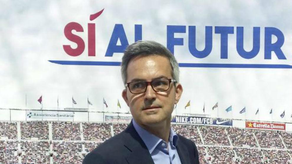 """Víctor Font: """"Koeman no seguiría con nosotros aunque gane todo; hemos elegido a Xavi"""""""