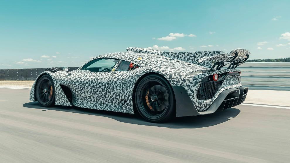 Así suena el motor Mercedes de Fórmula 1 en el AMG Project One