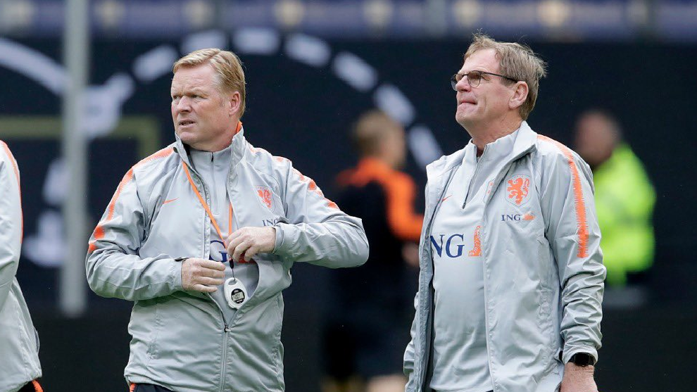 Dwight Lodeweges appointed Netherlands interim coach | MARCA in English