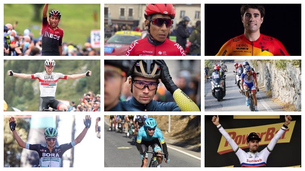 Los favoritos al Tour 2020: Nairo Quintana, Egan Bernal, Thibaut Pinot, Mikel Landa entre los aspirantes