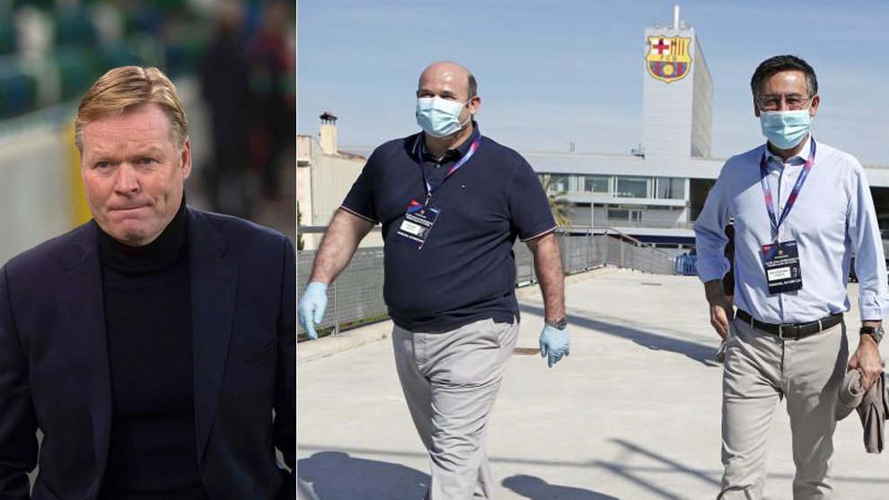 Ronald Koeman ya es oficialmente el nuevo entrenador del Barcelona.