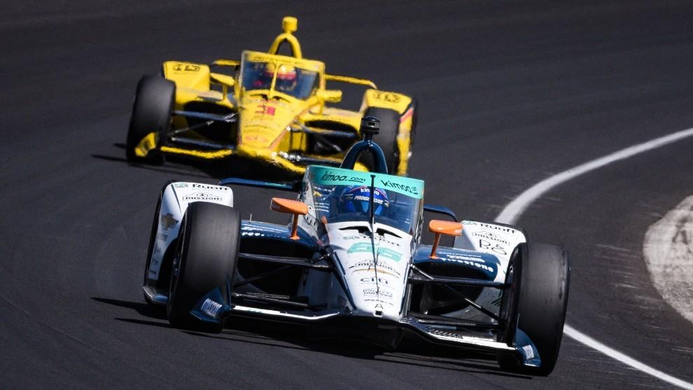 Alonso confía en el ritmo del McLaren en tráfico.
