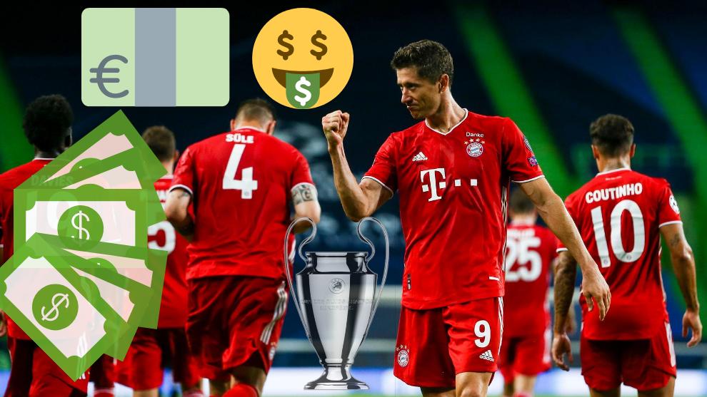 Bayern Munich break Champions League revenue record