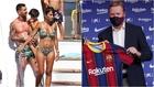 Messi aparca sus vacaciones para reunirse con Koeman