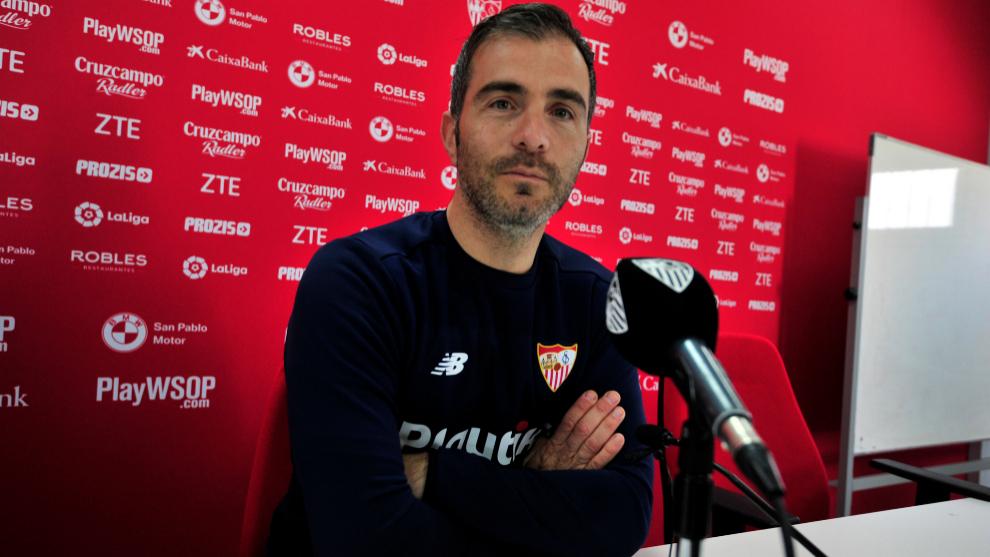 """Enzo Maresca: """"Los resultados del Sevilla muestran el trabajo de Lopetegui"""""""
