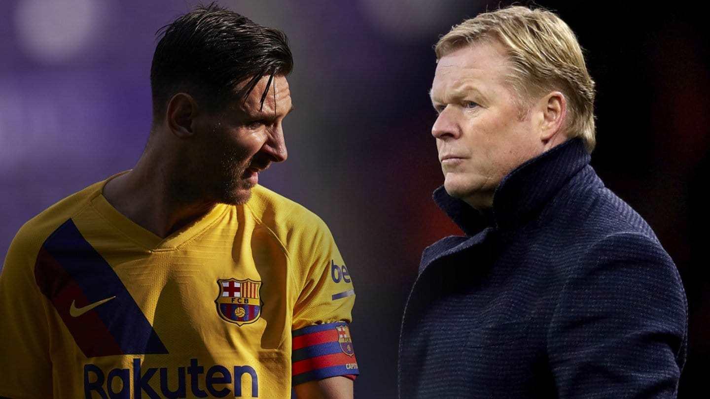 FC Barcelona: Messi asegura a Koeman que se ve más fuera que dentro del  Barcelona | Marca.com