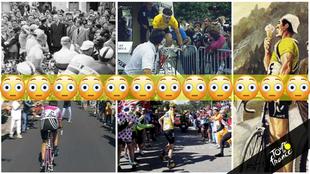 El Tour de Francia ha sido testigo de varias anécdotas impensabes en...