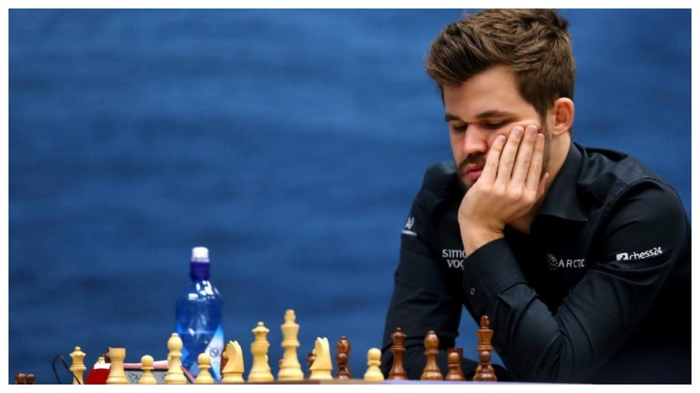 Magnus Carlsen, el campeón, en una imagen de un torneo anterior.