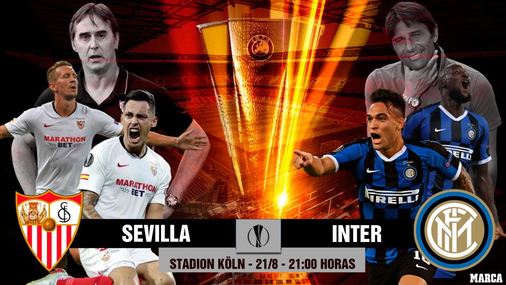 Sevilla - Inter de Milan: horario y donde ver por television hoy la...
