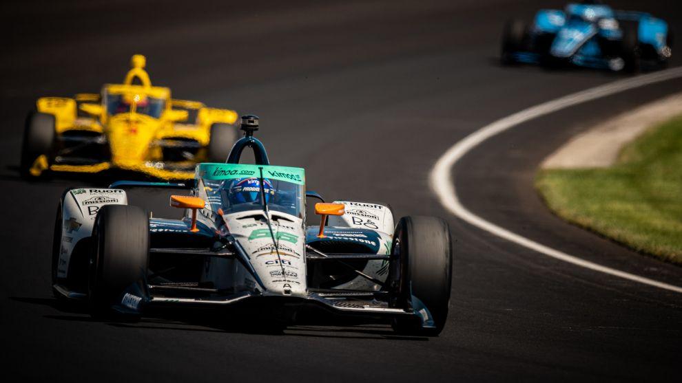 Fernando Alonso termina 23º y el McLaren de O'Ward domina el Carb Day