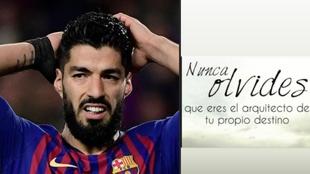 """El enigmático 'recado' de Suárez en redes: """"Nunca olvides que..."""""""
