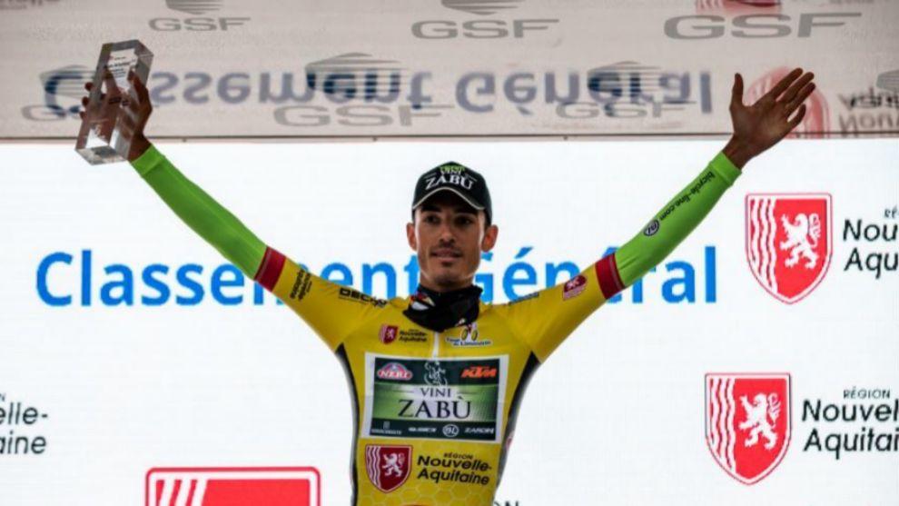 Luca Wackermann, ganador del Tour de Limosín