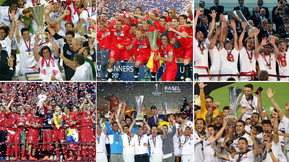 Sevilla: Six in six: Sevilla have won every Europa League ...