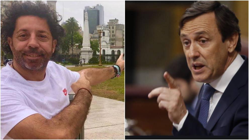 Los lapsus de Iván Campo y Rafael Hernando en la felicitación al...