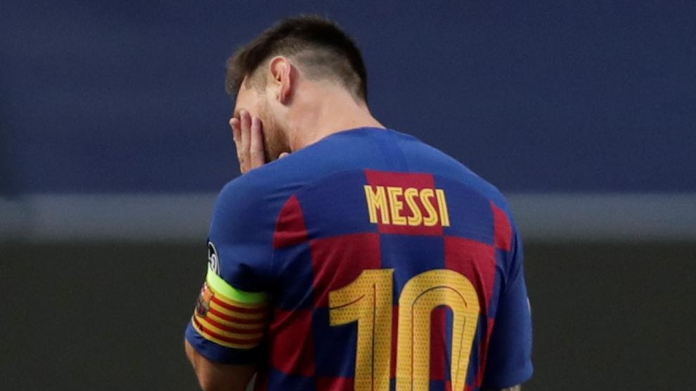 Lionel Messi querría dejar al Barcelona