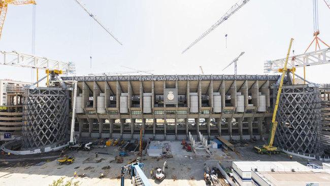 El nuevo Bernabéu, una mina de oro contra la crisis