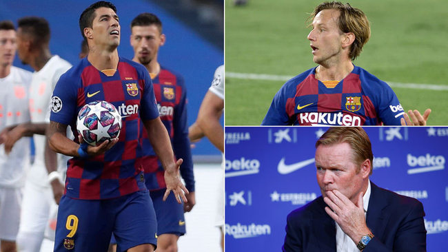 El Barça de Koeman comienza con las salidas de Rakitic... y Luis Suárez