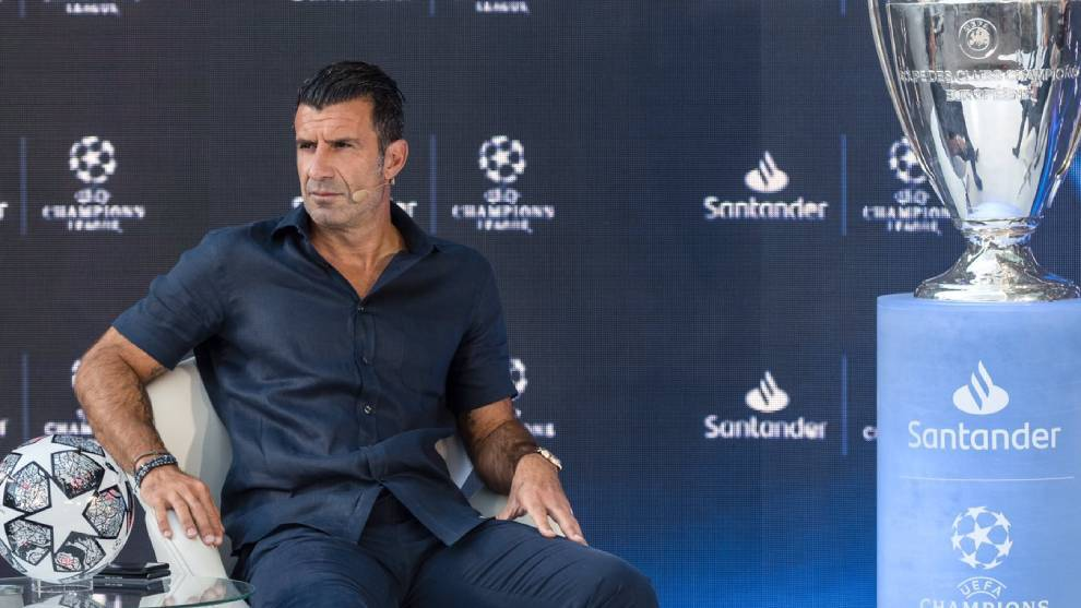 Figo: It's almost impossible for Messi to sign for Real Madrid