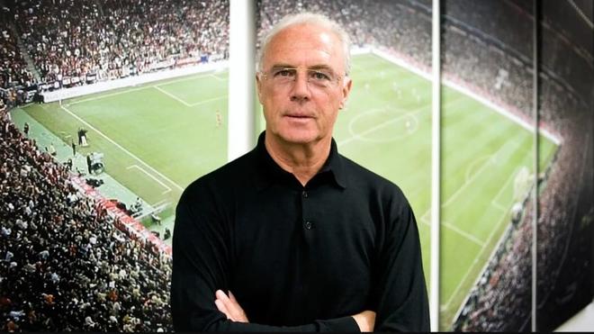 El presidente de honor del Bayern, Franz Beckenbauer.