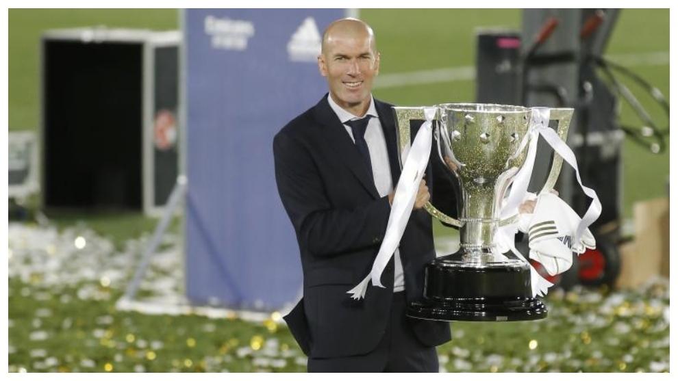 Le Real Madrid n'a pas besoin de dépenser beaucoup quand il a Zidane aux commandes