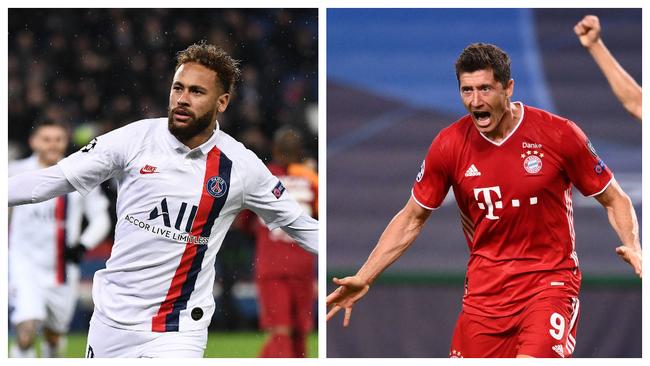 Neymar y Lewandowski serán las dos estrellas de la final