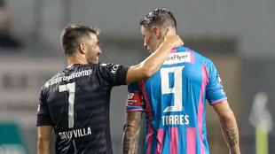 Se cumple un año del último partido de Torres frente al Vissel Kobe...