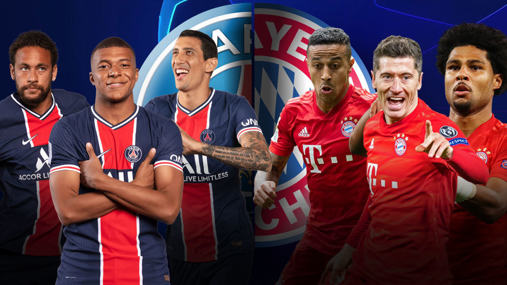 Champions League: PSG vs Bayern Munich, última hora en directo: onces  titulares, sorpresas | Marca.com