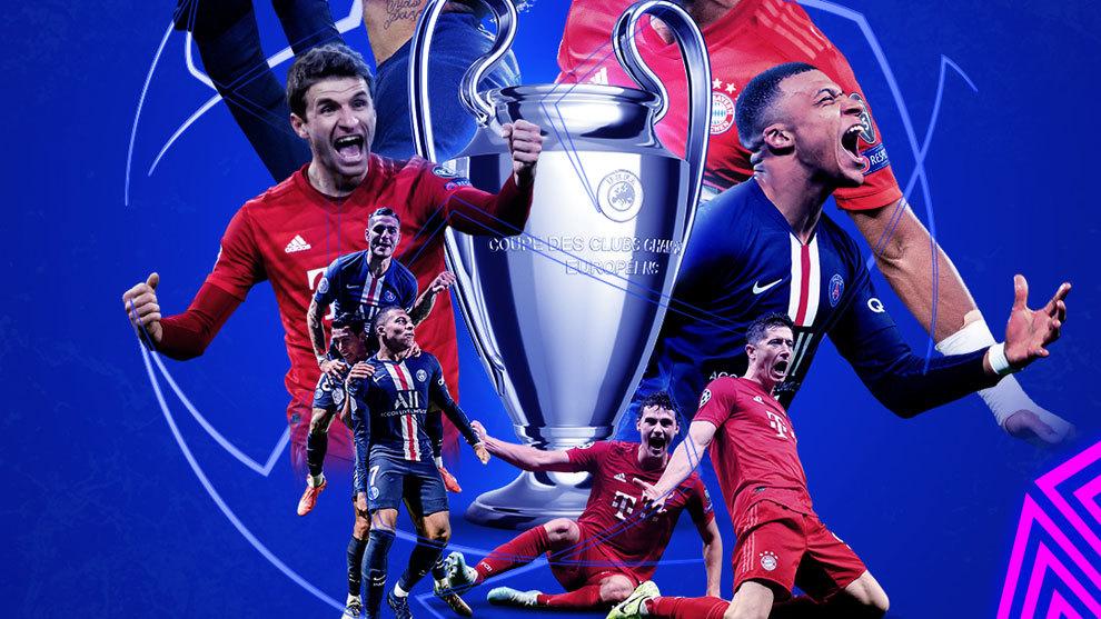 Champions League: PSG - Bayern: en directo la otra visión de la final | Marca.com
