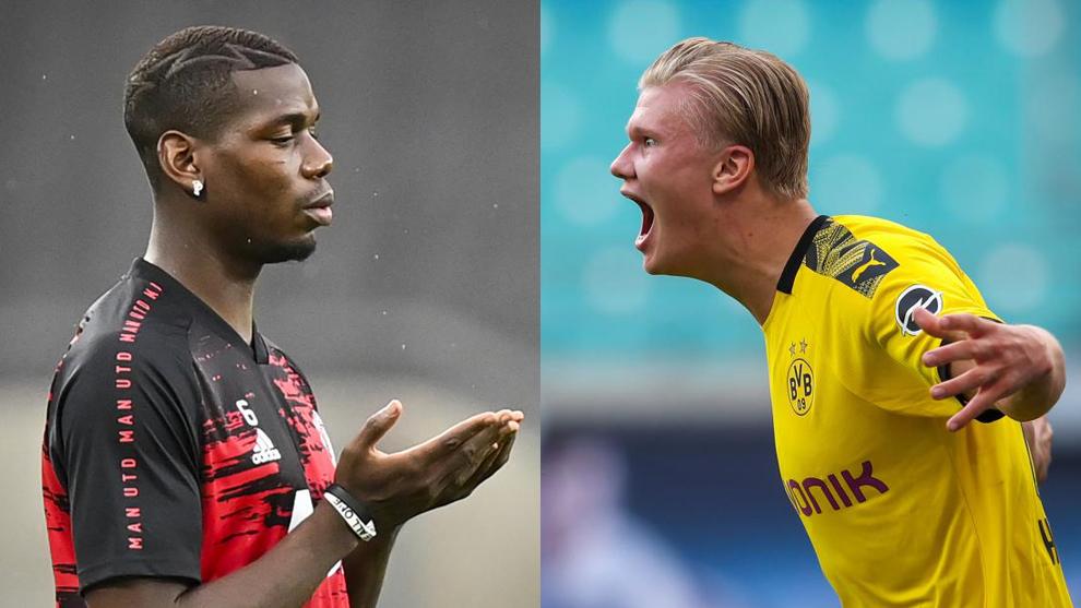Raiola confirma que ni Haaland ni Pogba saldrán de sus clubes este verano