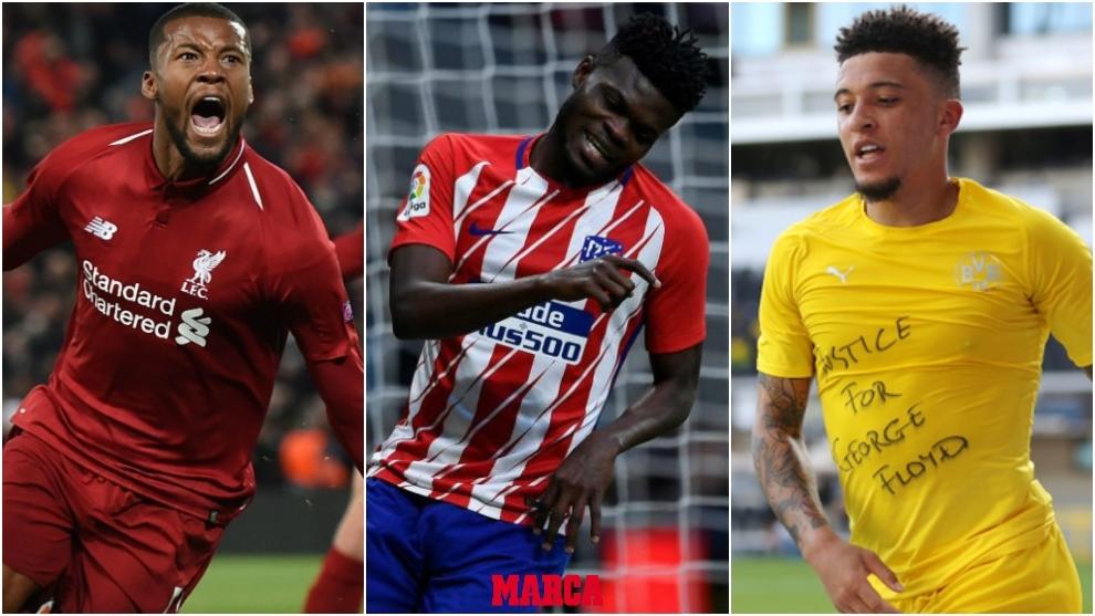 El mercado de fichajes de hoy: Koeman quiere a  Wijnaldum, Thomas ya no interesa al Arsenal, Jadon Sancho se queda y más