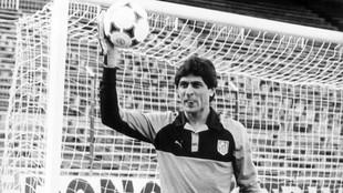 Fillol, durante su época en el Atlético.
