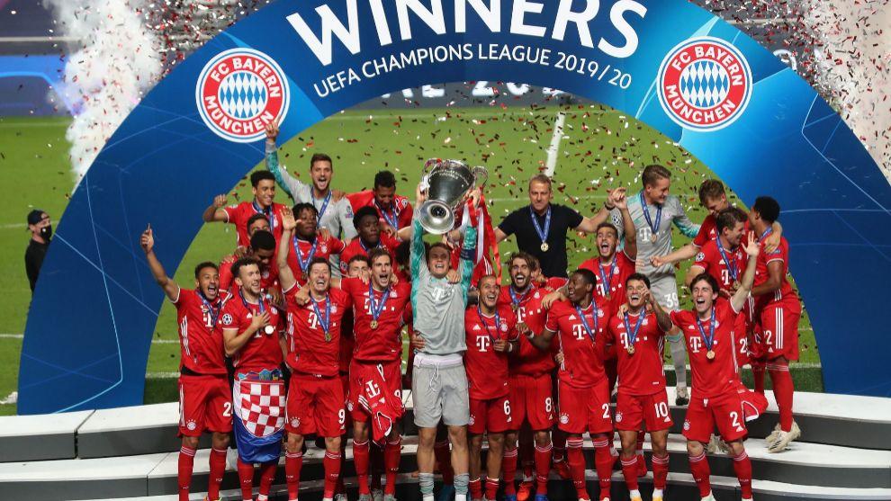 El Bayern impone su ley en Europa