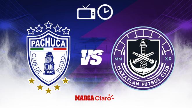Pachuca vs Mazatlán FC: Horario y dónde ver.