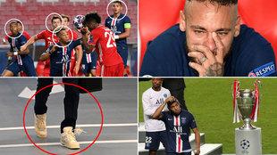 Lo que no viste de la final: El 'outfit' de Neymar antes de sus lágrimas, el feo gesto de Mbappé