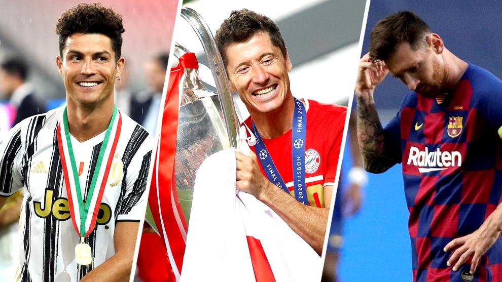 Sin Messi y Cristiano, Lewandowski es el principal favorito