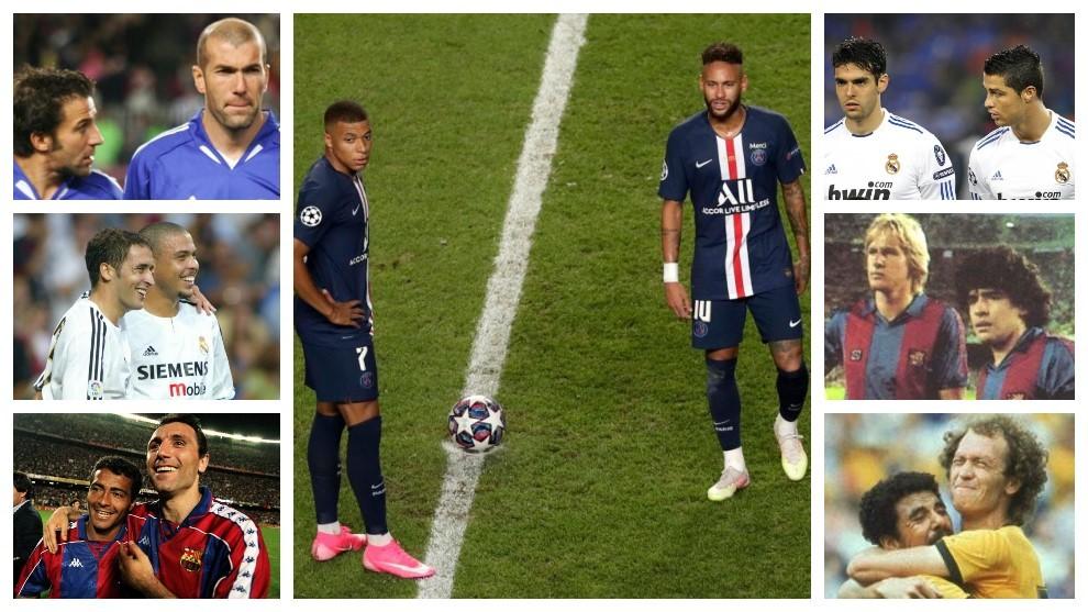 Neymar-Mbappé: Otras grandes parejas VIP que no alzaron la Champions