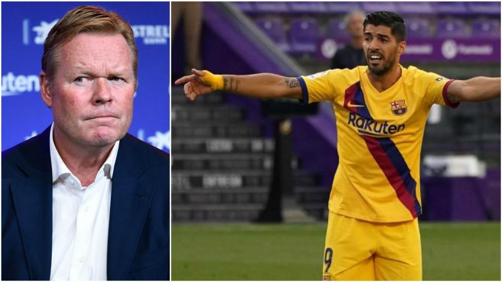 Koeman tells Luis Suarez that he isn't in his plans