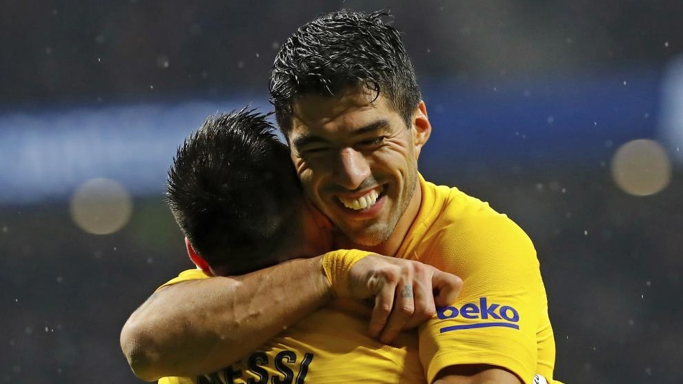 Barcelona The Departure Of Luis Suarez Just What Messi Was Missing Marca In English