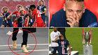 Lo que no viste de la final: El 'outfit' de Neymar antes de sus lágrimas, el feo gesto de Mbappé...