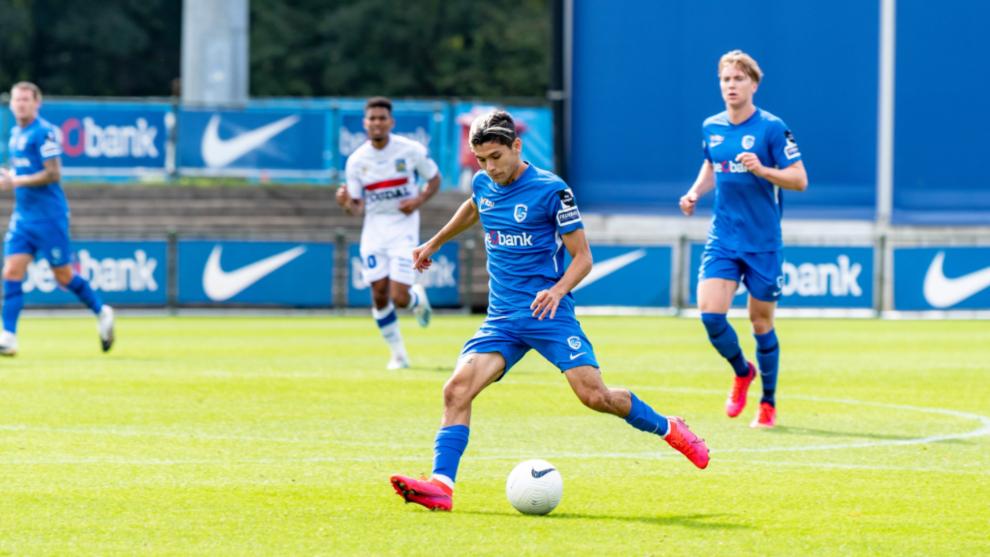Gerardo Arteaga debutó en el fútbol belga con el Genk. |