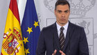 Moncloa anuncia una comparecencia institucional de Pedro Sánchez