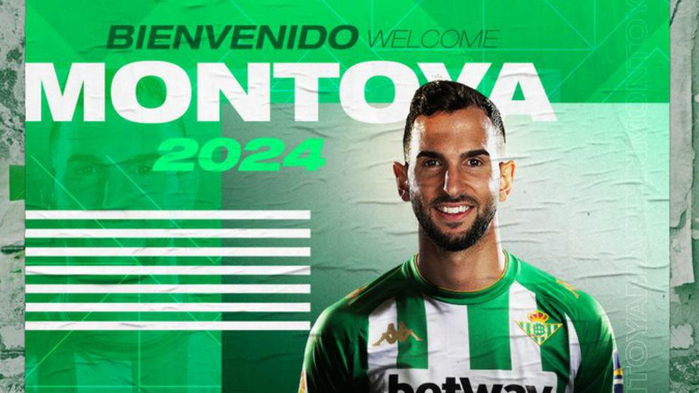 Martín Montoya, nuevo jugador del Betis