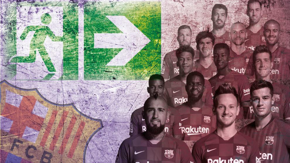 Más allá de Messi: El Barça pone en el mercado 332 millones... y 2240 partidos de azulgrana