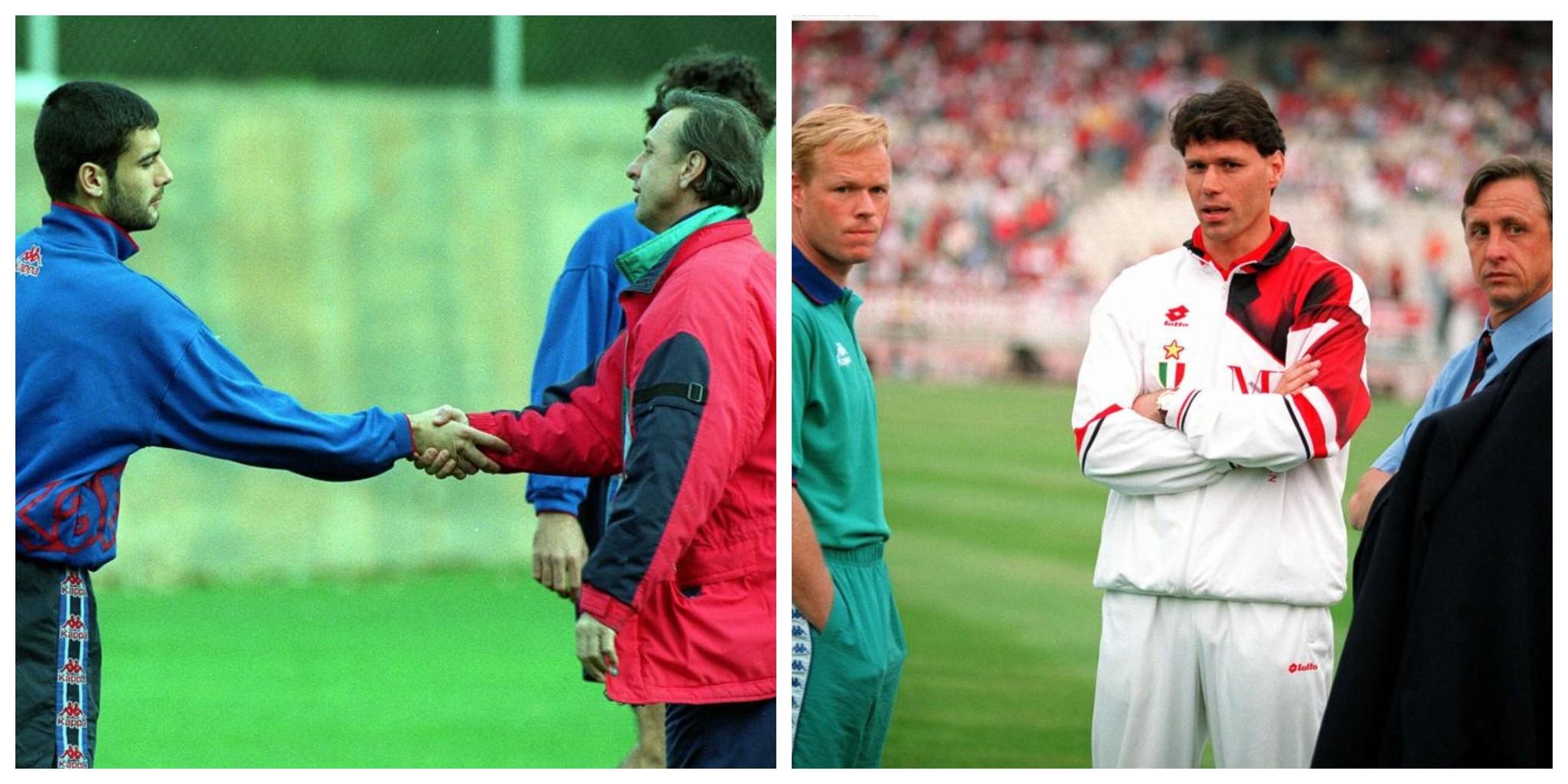 El entrenador holandés fue un referente para muchos de los jugadores a los que entrenó.