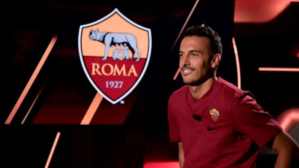 Pedro Rodríguez presentado como nuevo jugador de la Roma