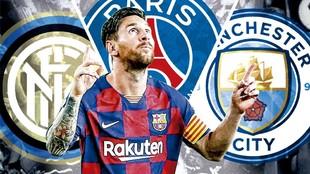 ¿Quién puede fichar a Messi?