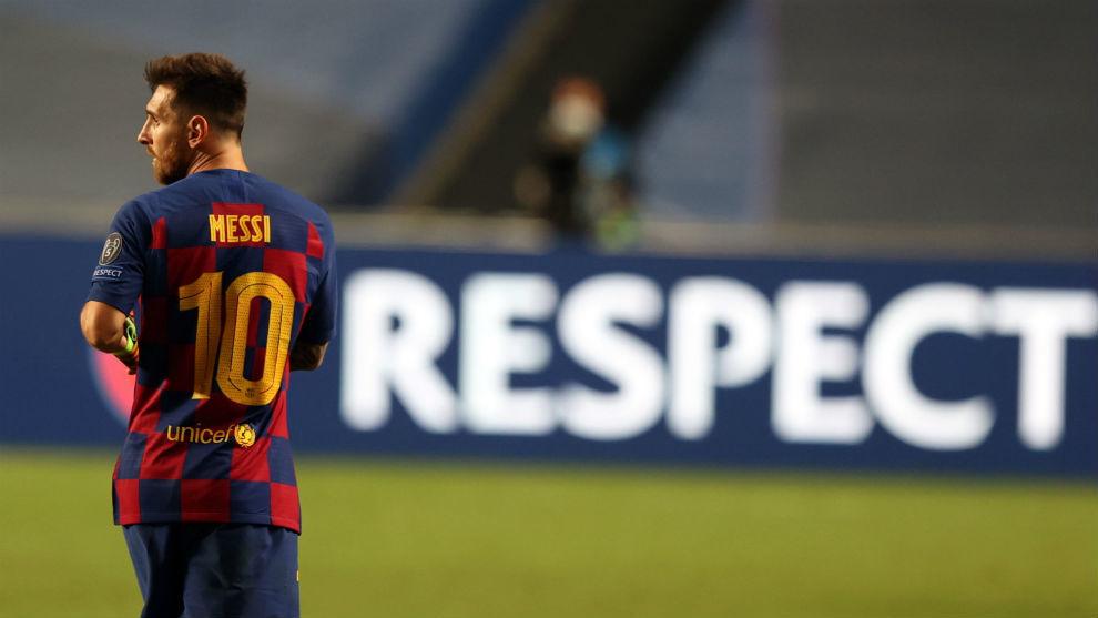 Se va Messi, el 2-8 es una broma
