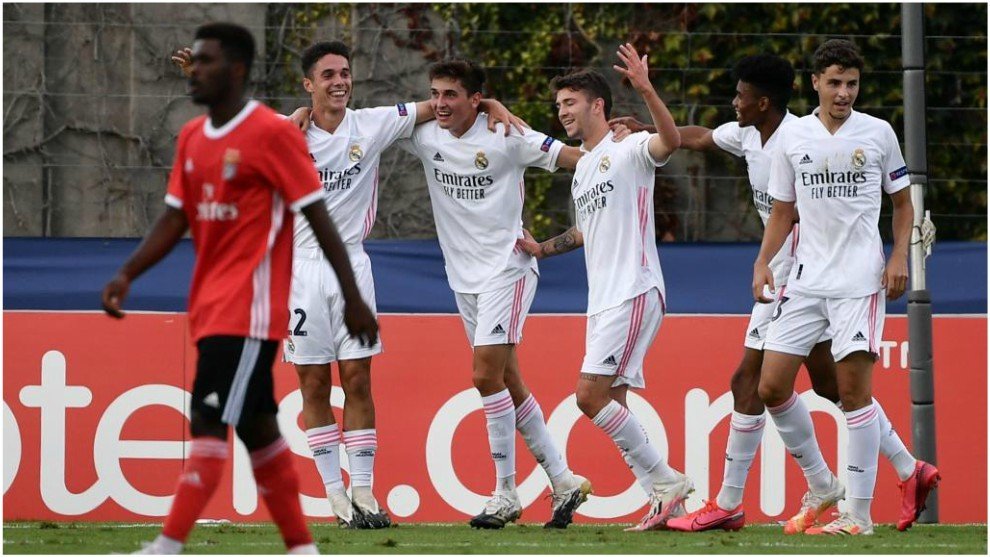 Real Madrid win their first UEFA Youth League