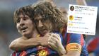 Puyol defiende la decisión... y ¡Luis Suárez lo aplaude!