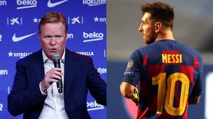 La frase de Koeman a Messi que detonó al argentino